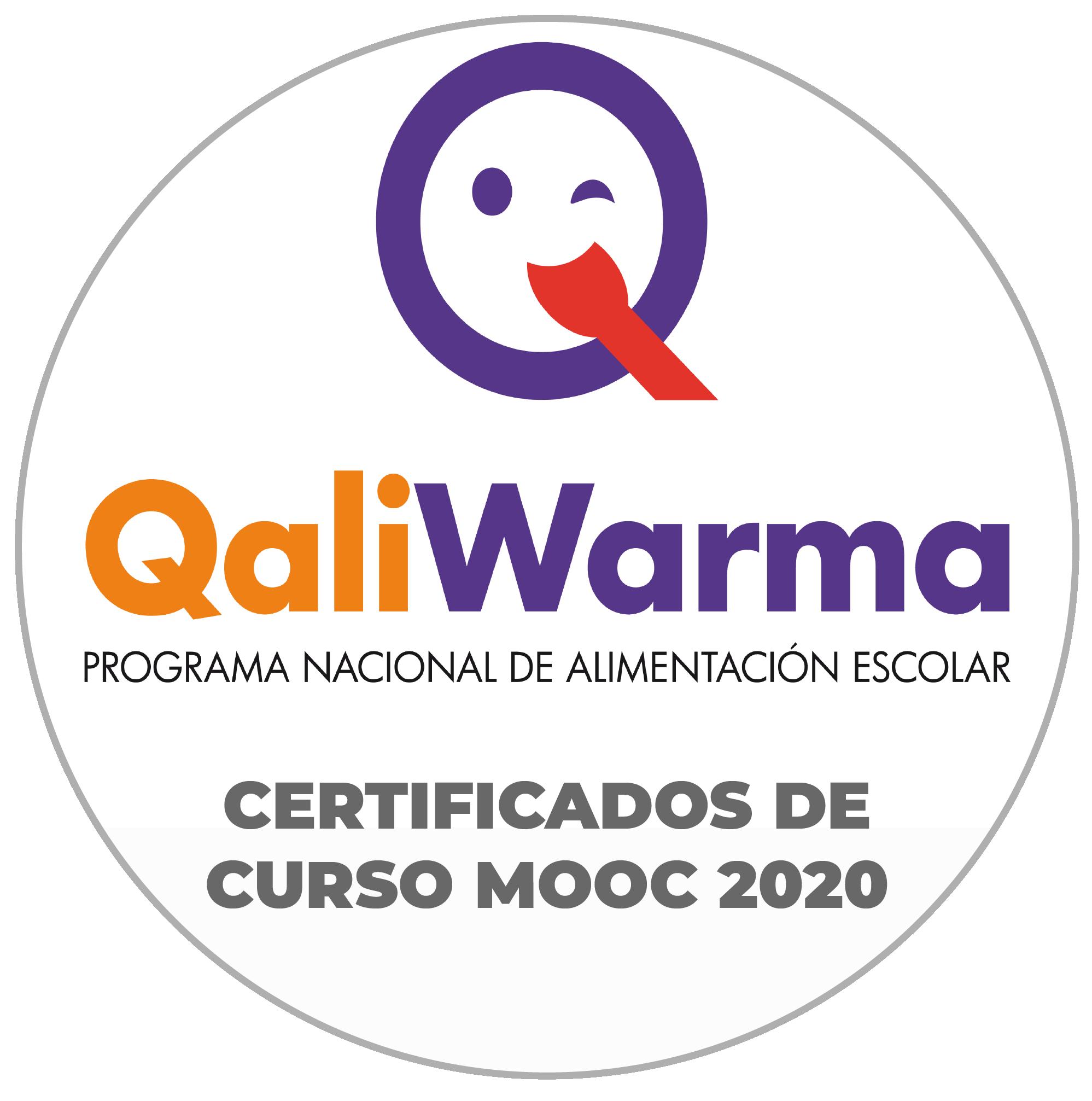 """Certificados del Curso MOOC """"Alimentación Saludable en el entorno Familiar y Escolar"""""""