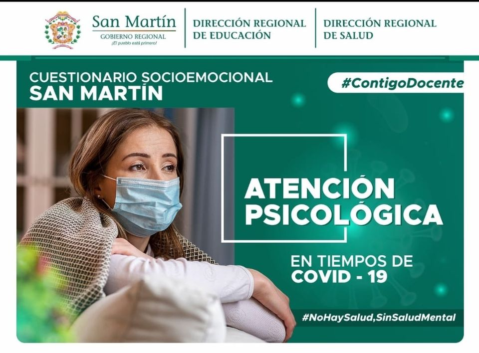 CONTIGO DOCENTE ATENCIÓN PSICOLÓGICA